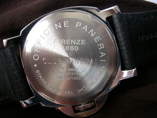 Luminor Club Panerai